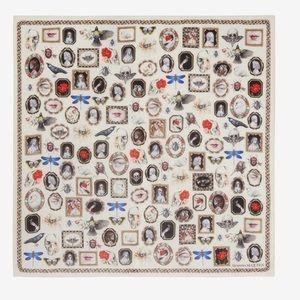 Alexander McQueen Silk Curiosities Shawl
